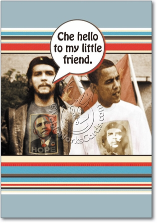 Che Humor Birthday Greeting Card Nobleworks