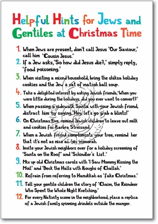 funny christmas card with source