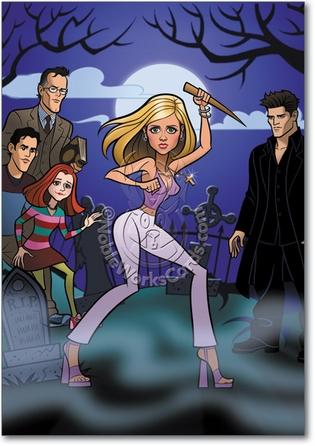 Buffy Adult Funny Birthday Card Nobleworks
