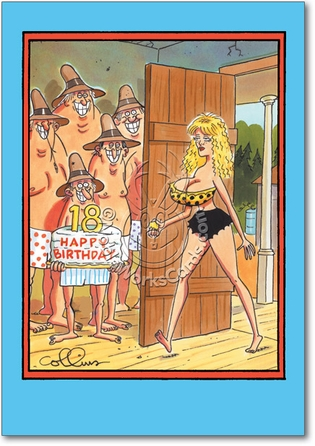 18Th Birthday Unique Inappropriate Funny Birthday Paper Card Nobleworks