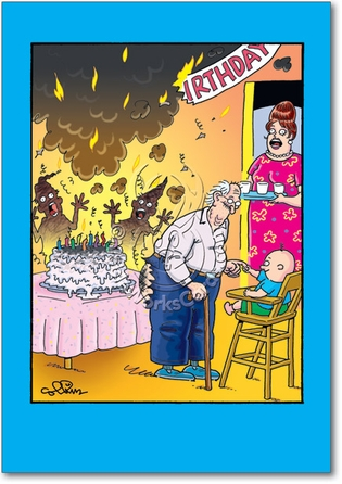 birthday cake fart joke