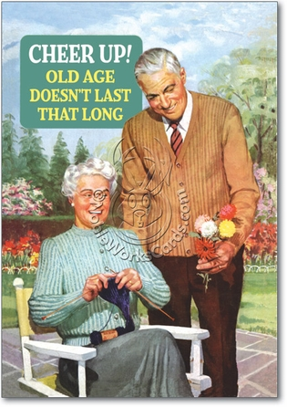 old age sex birthday card