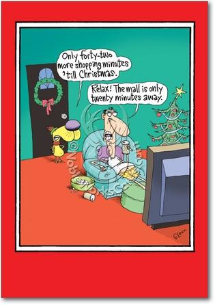 Adult christmas shopping