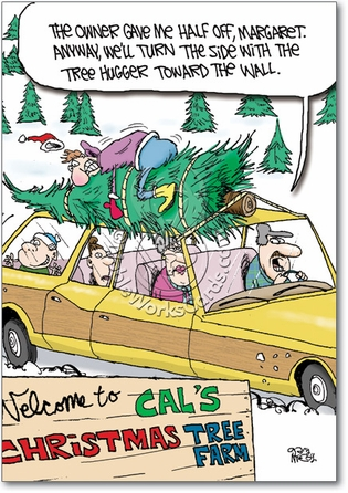 Tree Farm Tree Hugger Adult Greeting Card. Tree Farm Tree Hugger Naughty ...