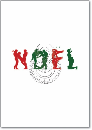 Naughty Noel Adult Greeting Card. Naughty Noel Adult Funny Merry Christmas ...