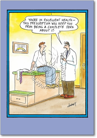 Jerk About It Adult Humor Get Well Greeting Card Nobleworks