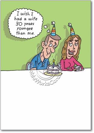 Funny Birthday Card For Wife Lektonfo